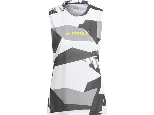 adidas TERREX Parley Agravic TR Tank Women, white/black
